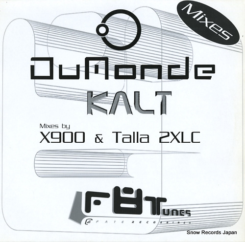 DUMONDE kalt(mixes) F8T012R-12 - front cover