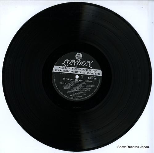 CAPUANA, FRANCO puccini; la fanciulla del west-highlights OS25196 - disc