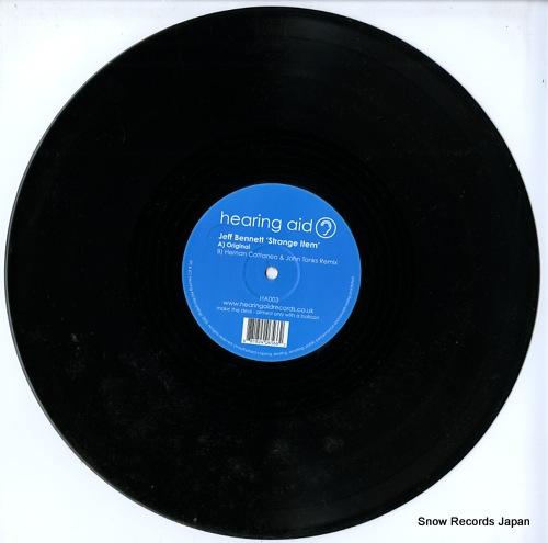 BENNETT, JEFF strange item HA003 - disc