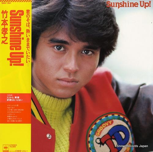 TAKEMOTO, TAKAYUKI sunshine up! 28AH1501 - front cover