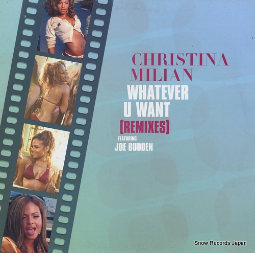 MILIAN, CHRISTINA whatever u want WHATEVERDJ2 - front cover
