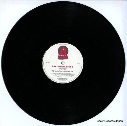 LATIN ONE me vida CR023 - disc