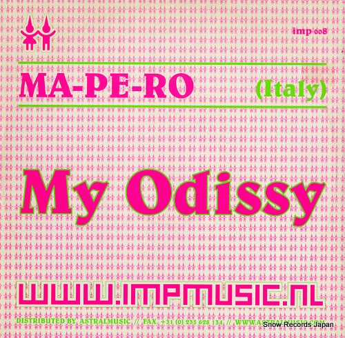 MA-PE-RO my odissy IMP008 - front cover