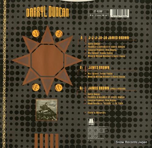 DUNCAN, DARRYL j-j-j-ja-ja james brown ZT41740 - back cover