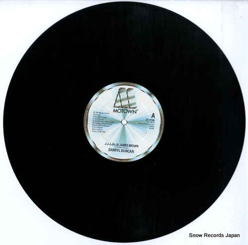 DUNCAN, DARRYL j-j-j-ja-ja james brown ZT41740 - disc