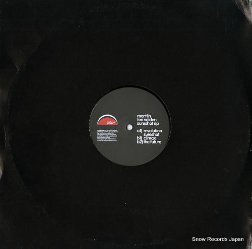VELDEN, MARTIJN TEN sureshot ep NCTG002 - back cover