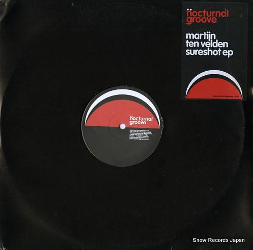 VELDEN, MARTIJN TEN sureshot ep NCTG002 - front cover