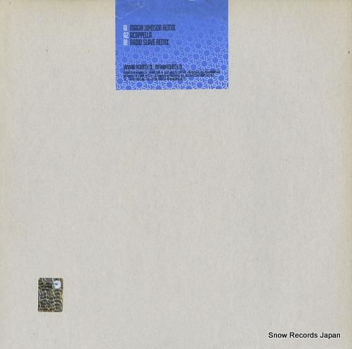 MR. GONE do for love REB002 - back cover