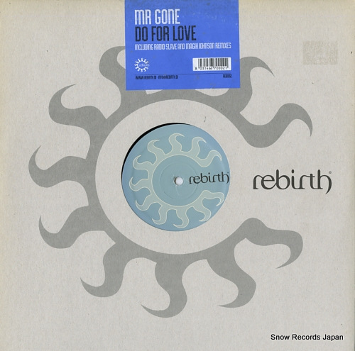 MR. GONE do for love REB002 - front cover