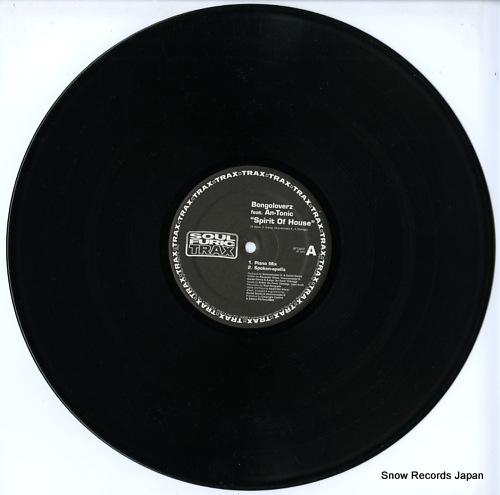 BONGOLOVERZ spirit of house SFT-0037 - disc