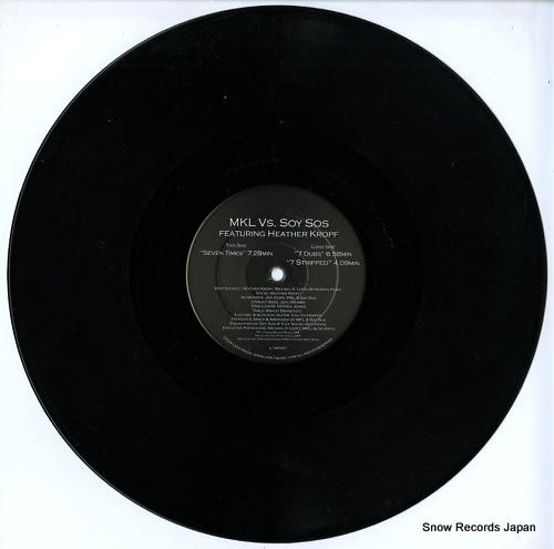 MKL VS. SOY SOS seven times L1M-001 - disc