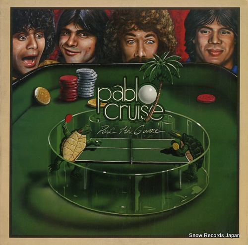 PABLO CRUISE part of the game SP-3712 - front cover