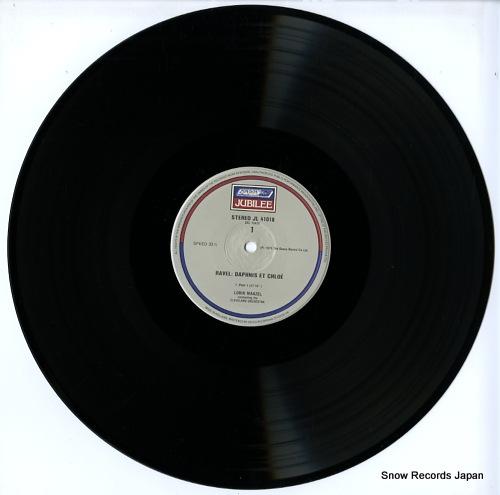 MAAZEL, LORIN ravel; daphnis et chloe JL41018 - disc