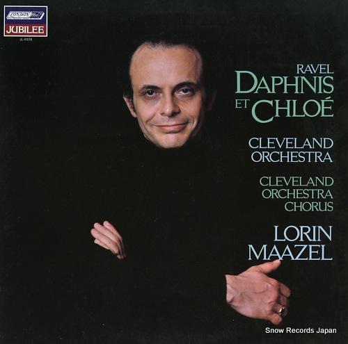 MAAZEL, LORIN ravel; daphnis et chloe JL41018 - front cover