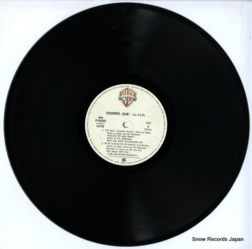 A-HA scoundrel club(mini album) P-6259 - disc