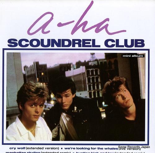 A-HA scoundrel club(mini album) P-6259 - front cover