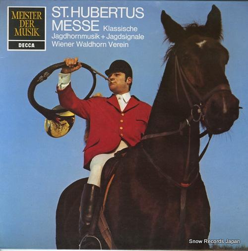 WIENER WALDHORN VEREIN beethoven; st. hurbertus 6.41583 - front cover