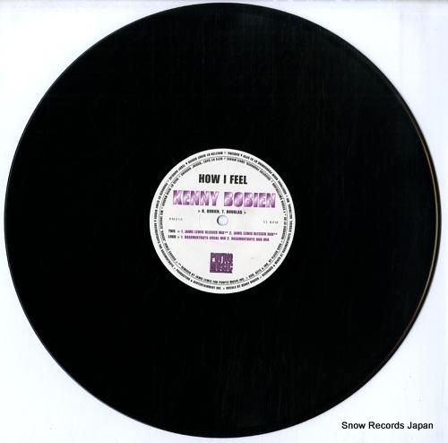 BOBIEN, KENNY how i feel PM010 - disc