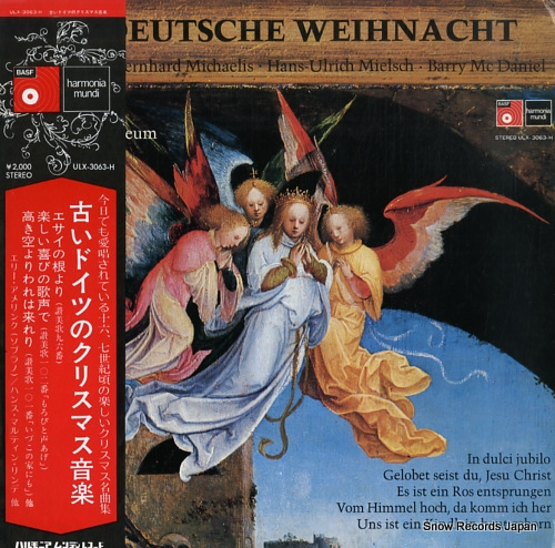 AMELING, ELLY altdeutsche weihnacht ULX-3063-H - front cover