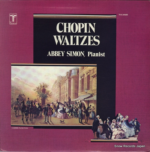SIMON, ABBEY chopin waltzes TV-S34580 - front cover