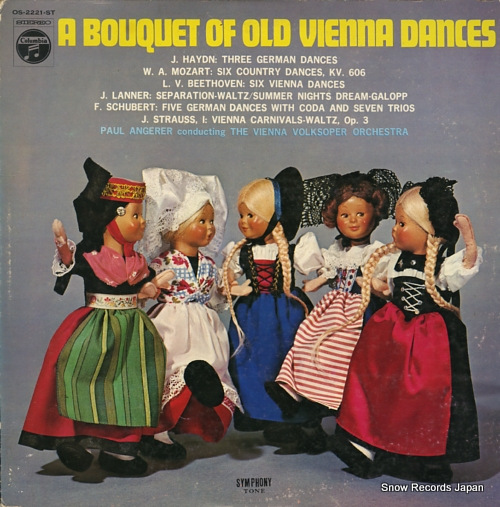 ANGERER, PAUL a bouquet of old vienna dances OS-2221-ST - front cover
