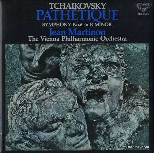 MARTINON, JEAN tchaikovsky; pathetique symphony no.6 in b minor SLC1545 - front cover