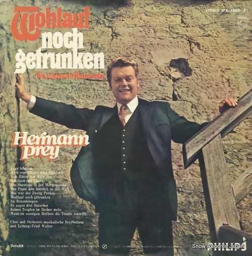 PREY, HERMANN singt der deutsche volkslieder jokan SFX-7880-81 - back cover