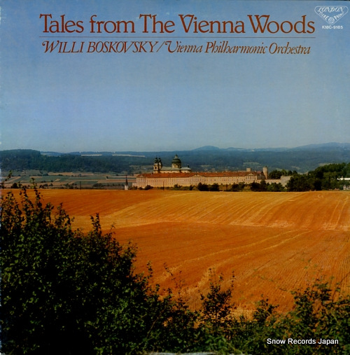 BOSKOVSKY, WILLI tales from the vienna woods K18C-9185 - front cover
