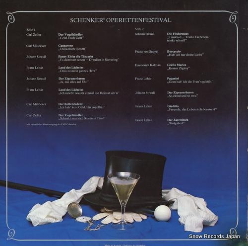 V/A schenker's operettenfestival SF1001 - back cover