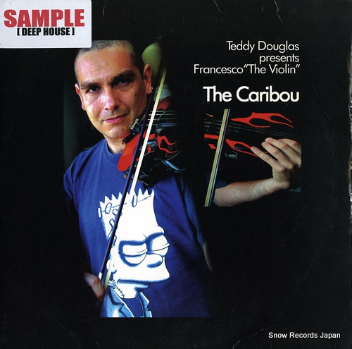DOUGLAS, TEDDY the caribou BBR047 - front cover