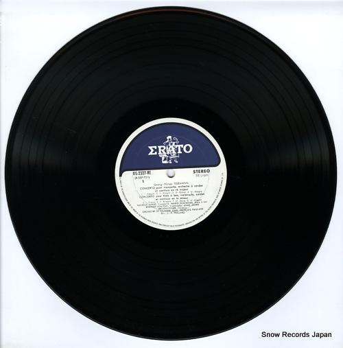 PAILLARD, JEAN-FRANCOIS telemann; quatre concertos OS-2327-RE - disc