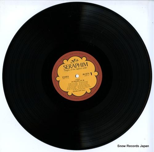 AUER, EDWARD chopin; 24 preludes op.28 AA.5078 - disc