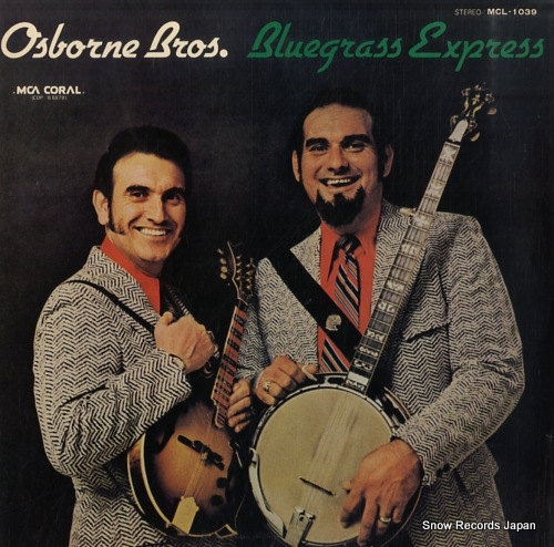 OSBORNE BROTHERS, THE bluegrass express MCL-1039 - front cover