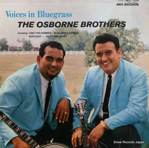 OSBORNE BROTHERS, THE voices in bluegrass MCL-1059 - front cover