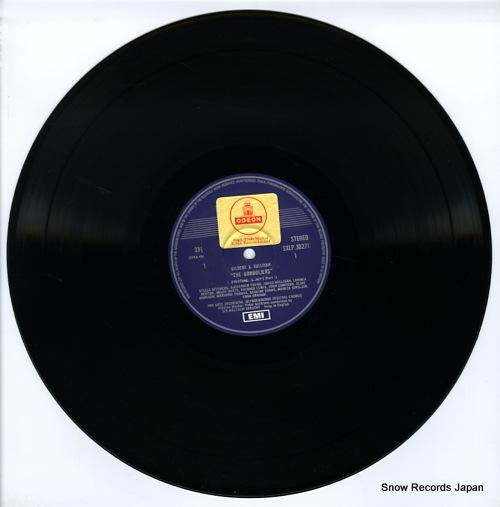 SARGENT, MALCOLM gilbert & sullivan; the gondoliers SXDW3027 - disc
