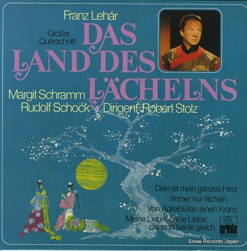 STOLZ, ROBERT lehar; das land des lachelns 89-881-IE - front cover