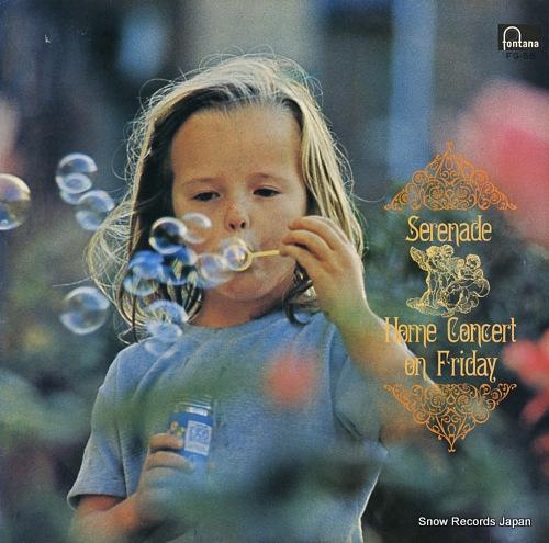 PAUMGARTNER, BERNHARD serenade / home concert on friday FG-55 - front cover