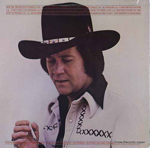 OVERSTREET, TOMMY greatest hits vol.one DOSD-2027 - back cover