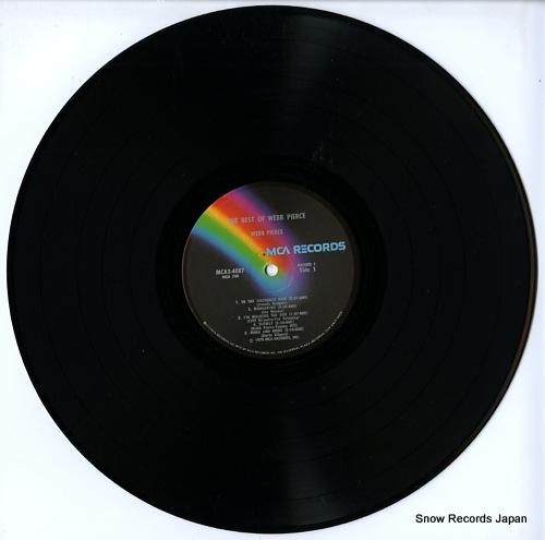 PIERCE, WEBB the best of webb pierce MCA2-4087 - disc