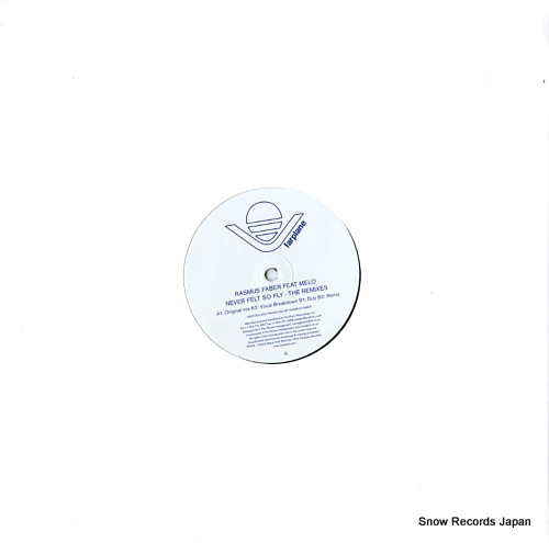 FABER, RASMUS never felt so fly (the remixes) FP003 - back cover