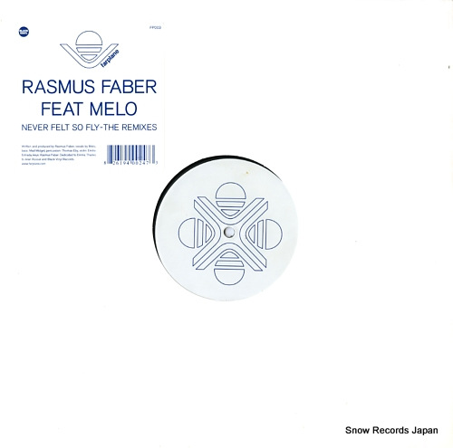 FABER, RASMUS never felt so fly (the remixes) FP003 - front cover