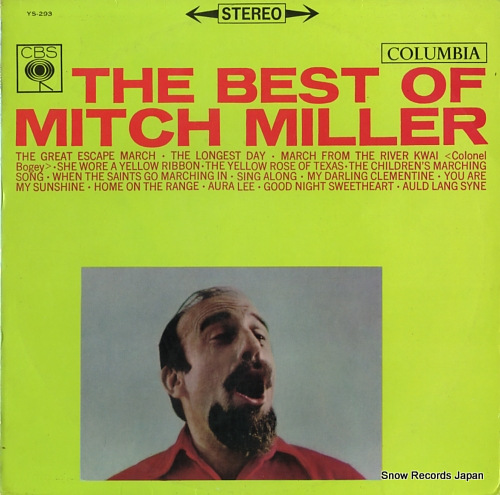 MILLER, MITCH the best of mitch miller YS-293 - front cover