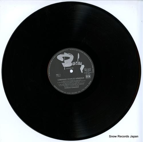 AZNAVOUR, CHARLES camarade GP-553 - disc
