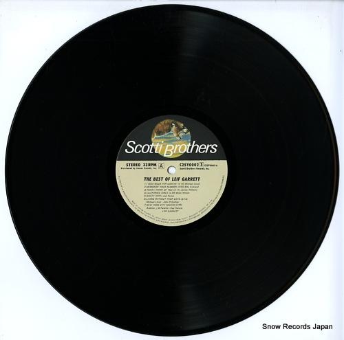 GARRETT, LEIF the best of leif garrett C25Y0002 - disc