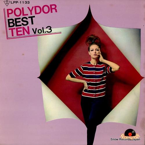 V/A polydor best ten vol.3 LPP-1133 - front cover