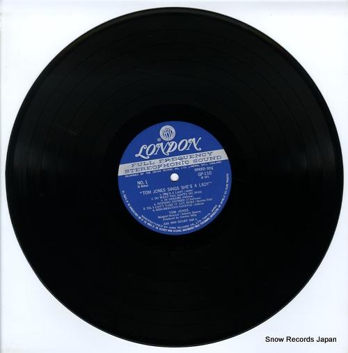 JONES, TOM sings she's a lady GP110 - disc