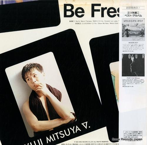 MITSUYA, YUJI be fresh! K25A-421 - back cover