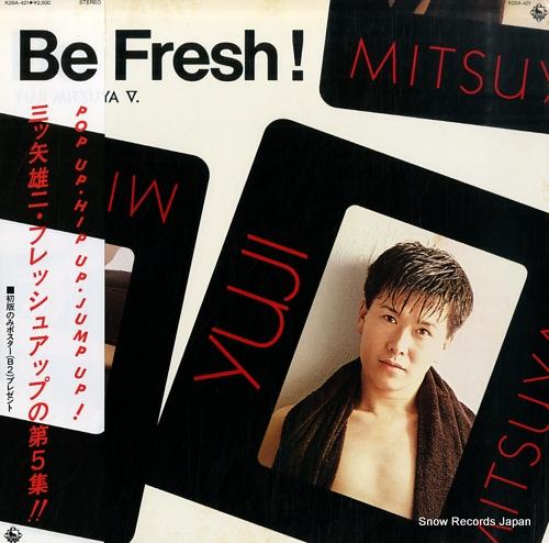 MITSUYA, YUJI be fresh! K25A-421 - front cover