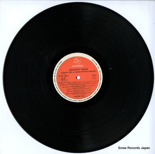VILLA, CLAUDIO / LUCIANO TAIOLI finalmente insieme PL596 - disc
