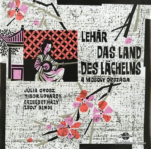 V/A lehar; das land des lacheins / mosoly orszaga / the land of smiles LPX6541